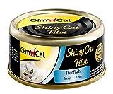GimCat Alimento para Gatos Adultos sin azucar y Gluten, 48 x 70 g
