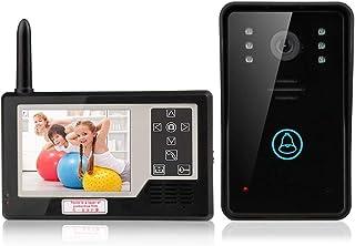 هاتف فيديو لاسلكي 3.5 للباب، نظام انتركوم لجرس الباب مع كاميرا بالاشعة تحت الحمراء