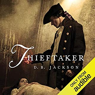Thieftaker audiobook cover art