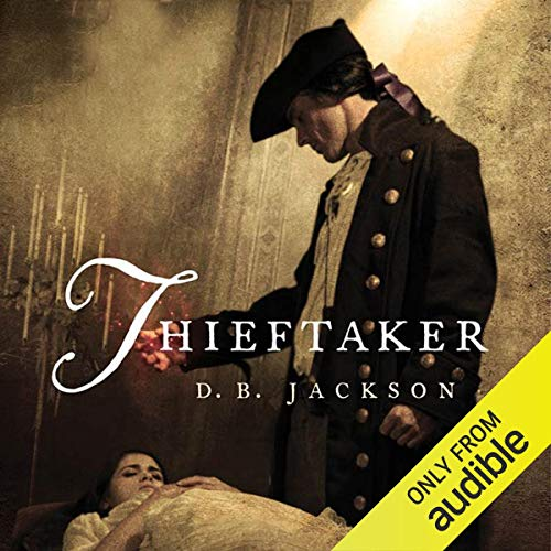 Thieftaker audiobook cover art