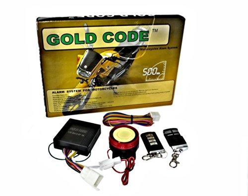 Alarma antirrobo profesional y universal para moto, doble alarma con sirena de seguridad