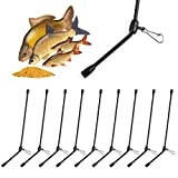 TheBigFish - 9X Anti Tangle gebogen - 15cm -