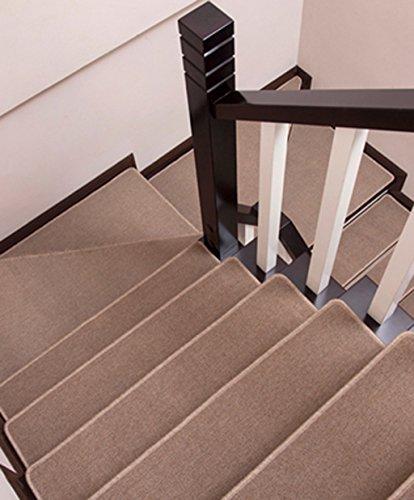 Loutidian Scala Mats Zerbino Antiscivolo Scale per Stair Mat Tavolino tappetini Negozio (Colore : C, Dimensioni : 100 * 100cm/1)