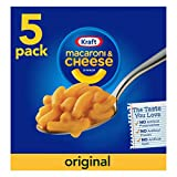 Kraft - Mac con queso original de un 7,25 oz, 5 qt