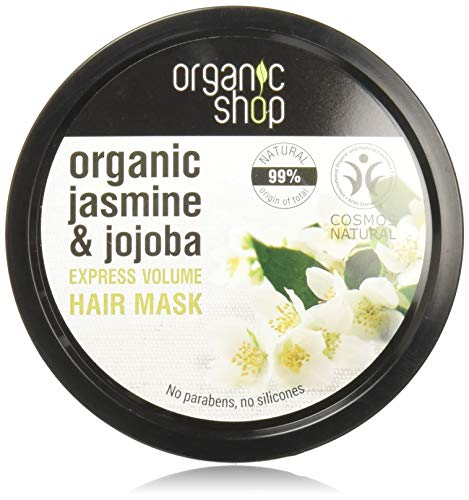 Organic Shop Jazmín de India Mascarilla Volumen Express - 250 ml