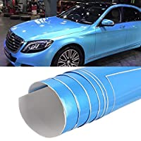 8×0.5メートルの自動車の装飾ラップフィルムシンフォニーPVCボディカラーフィルムを変更します ハイクオリティ (Color : Symphony Dark Blue)