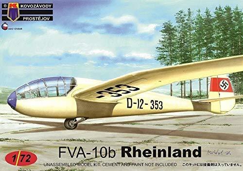 KPモデル 1/72 ドイツ空軍 FVA-10b ラインランドグライダー プラモデル KPM0153