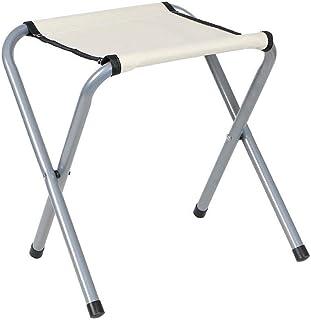 Chair Chair, Folding Camping Stool, Portable Aluminum Alloy Outdoor Folding Lazy Chair, 29x25x34 cm (Color : B),Colour:E (...