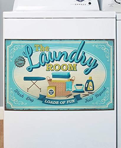 Lively Laundry Washing Machine Magnet - Wash Room Appliance Decoration