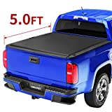 oEdRo Tri-Fold Truck Bed Tonneau Cover Compatible with 2015-2020...
