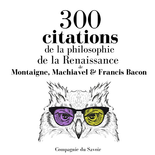 Couverture de 300 citations de la philosophie de la Renaissance