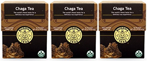 Chaga Tea - Organic Herbs (3 Packages(54 Tea Bags Total))