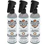 Ranger Ready Alcohol Hand Sanitizer, Trigger Spray, 8 Fl Ounce (Pack of 3)