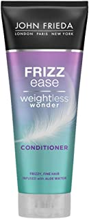 John Frieda Weightless Wonder Conditioner for Frizzy, Fine Hair with Aloe Water, 250 ml