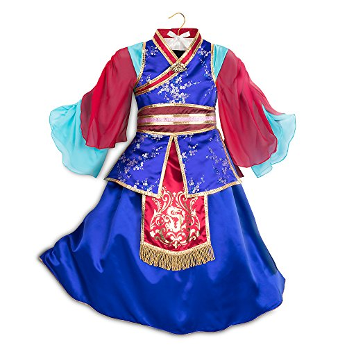 Disney Mulan Deluxe Costume for Kids Size 7/8 Multi