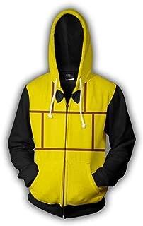 HPY Gravity Falls Hoodie Bill Cipher Cosplay Costume Jacket Christmas Halloween, S-3XL