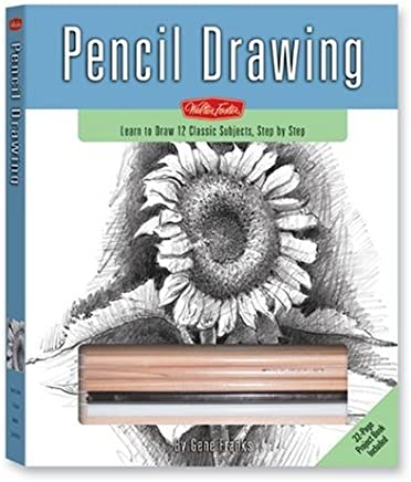 Pencil Drawing: Learn to draw 12 Classic Subjects, step by step