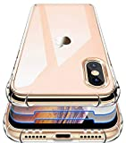 Garegce Case for iPhone XS Max, 2 Packs Glass Screen