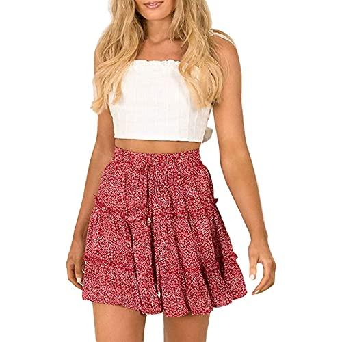 Kobiety Spódnice Spódnice Letnie Spódnice Mini Spódniczki Krótkie Spódniczki Spódnice Latem (Color : G, Size : Medium)