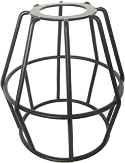 Baiwaiz Black Wire Iron Cage Lamp Shade, Metal Bulb Guard Cage LampShade Industrial Replacement Bird Cage Shade GLS17101