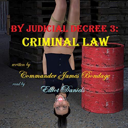 By Judicial Decree 3: Criminal Law Audiobook By Commander James Bondage cover art
