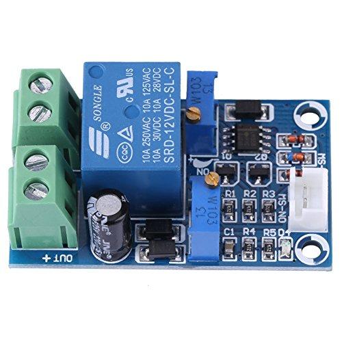12V Battery Charging Controller Protection Board Module, Undervoltage Low Voltage Cut Off Automatic Switch Recovery Protection Controller Module
