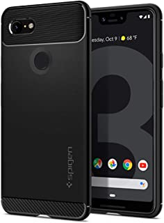 Spigen Rugged Armor Designed for Google Pixel 3 XL Case (2018) - Black