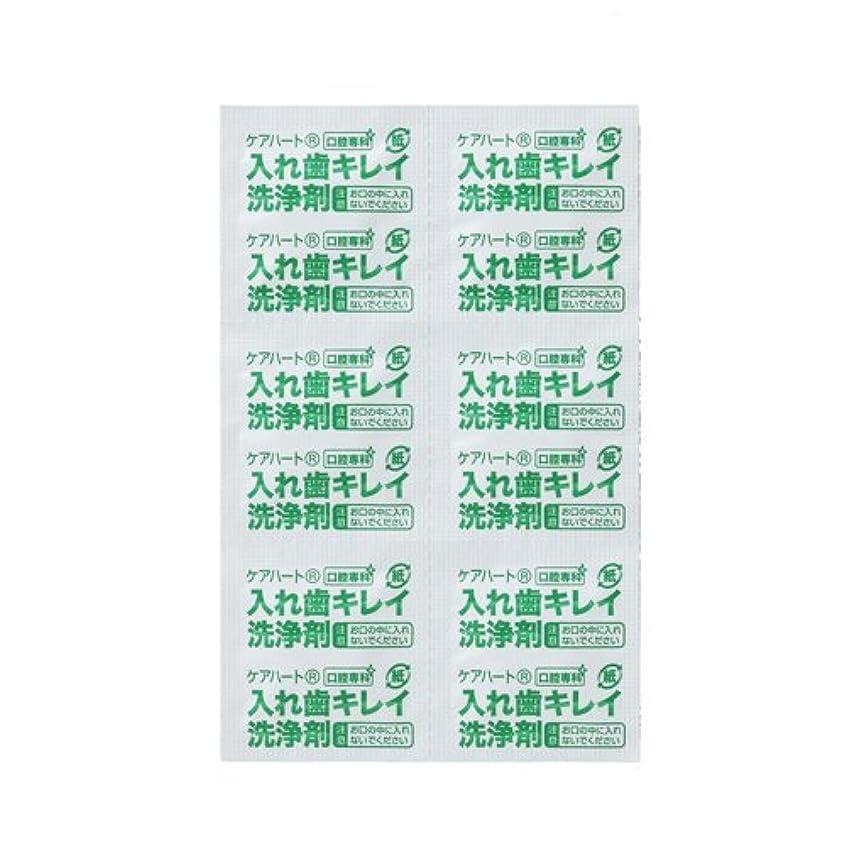 宿る翻訳するマイクロフォンケアハート 口腔専科 入れ歯キレイ洗浄剤 3000錠入