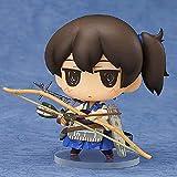JJRPPFF Q Version Kaga Figura, Modelo de Caracteres de la colección Kantai de 2.8 Pulgadas, Postura de pie, Muñecas Nendoroides Lindas Estáticas Lindas, Material de PVC Anime Girl Figma