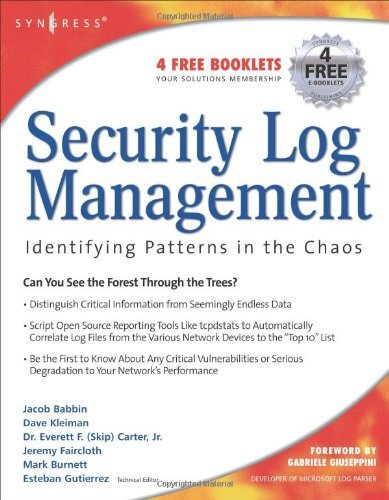 Security Log Management: Identifying Patterns in the Chaos (English Edition)