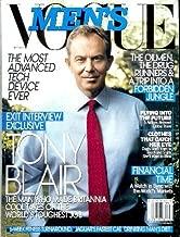 Men's Vogue Magazine - September 2007: Tony Blair, Ana Ivanovic