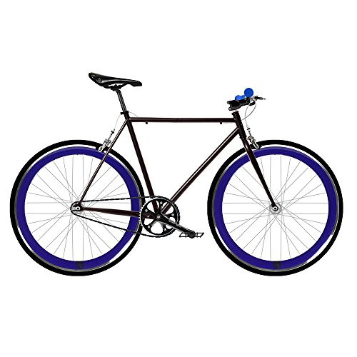 MOWHEEL Bicicleta Fix 2 Azul. Monomarcha Fixie/Single Speed. Talla 56 …