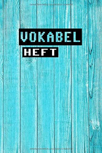 Vokabelheft: Vokabelheft a5 - Vokabelbuch - Vokabeln - Vokabelblock