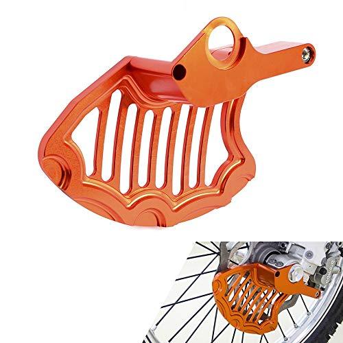 PUXINGPING- Cubierta del Protector del Disco del Freno Delantero para KTM SX SX-FC Exc-F XC XC-W XCF-W XC-W 125 150 200 250 300 350 450 500 para Husqvarna 16-2020 (Color : Orange)