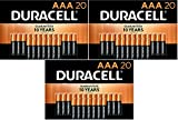 Duracell - CopperTop AAA Alkaline Batteries - long lasting, all-purpose Triple A battery for household and business, 60 Count