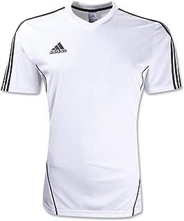 adidas Youth Estro 12 Training Jerseys White/Black
