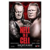 WWE: Hell in A Cell 2015 - Poster da parete, 42 cm...