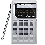 Best Am Fm Tv Portable Radios - AM FM Battery Operated Portable Pocket Radio Review
