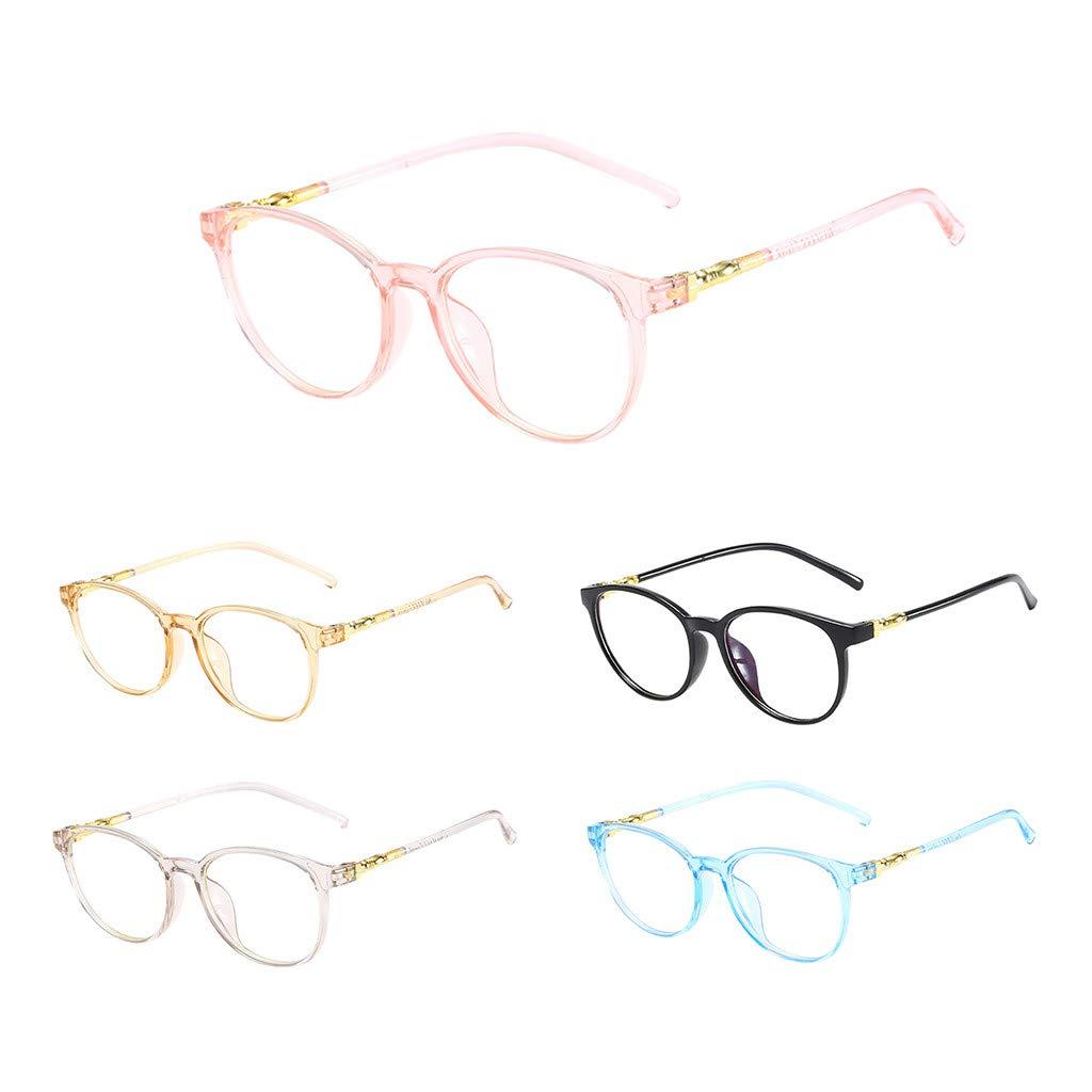 Tuscom Unisex Non-Prescription Eyeglasses Stylish Clear Lens Eye