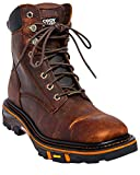 Cody James Men's Decimator Lace Kiltie Work Boot Wide Square Toe Brown 8.5 D