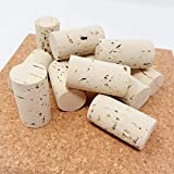 G-Cork Corchos de Vino - Tapones - Botella - Manualidades - Decoración - Bricolage - 24mmx45mm (Claro, 50)