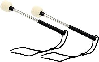 SUPVOX 10 PCS Kit de puntas de baquetas Pr/áctica Puntas de repuesto Palas de protecci/ón para bater/ía de bater/ía Accesorios para instrumentos musicales Negro