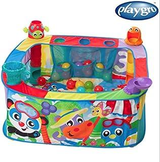 Playgro Pop and Drop Activity Ball Gym 赤ちゃんジム、ボール遊び、ボール遊び場(並行輸入品)