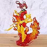 MizzZee Bishoujo Estatua oscura Phoenix Lady Deadpool Harley Laura Kinney Supergirl Spider Woman Psylocke Figura Muñeca 22cm