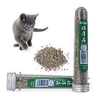 40ml Natural Organic Cat Catnip Kitten Menthol Flavor Interactive Cat Training Treats Toy Cat Mint Snacks Pet Products