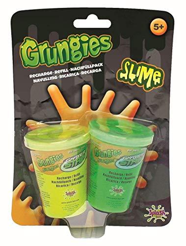 Splash Toys 56016I - Grungies Slime Nachfüllpack, Nachfüllset mit gelbem und grünem Schleim für Grungies Slime Splasher Schleimpistole und Grungies Slime Blaster Schleimgewehr