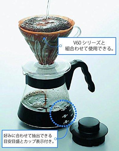 HARIO ハリオ V60 01 透過 コーヒードリッパー クリア コーヒードリップ 1~2杯用 VD-01T