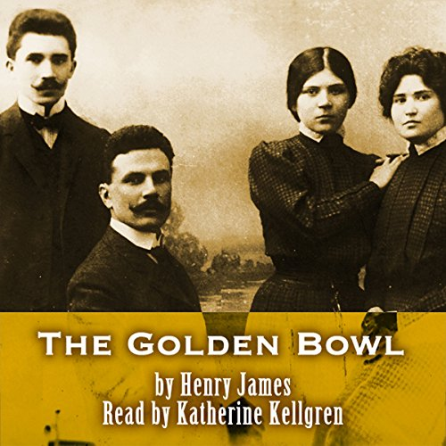The Golden Bowl audiobook cover art