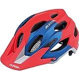 ALPINA CARAPAX Fahrradhelm, Unisex– Erwachsene, red-blue, 57-62
