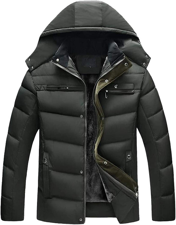 Zolimx Herren Jungen Casual Warme Slim Fit Winter Zipper Coat mit Kapuze Outwear Männer Winter Jacke Große Kapuze Mantel dicken SAMT Mantel Top Blause B07JJMNRR7 Online    Berühmter Laden